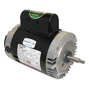 Pool motor 1 2 hp 3450 rpm 115 208 230v electric fan for 1 2 hp pool motor