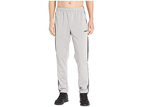 adidas Men's Essentials 3-Stripe Tricot Pant Tapered Medium Grey Heather/Black Medium 32