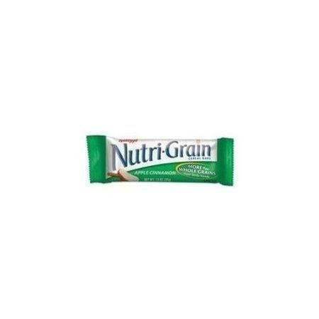 - Nutri Grain Apple-cinnamon Cereal Bars - Low Fat - Apple Cinnamon - 16 / Box (KEB35645) WLM