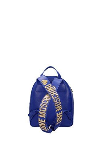 Zaino Love Moschino trapuntato blu