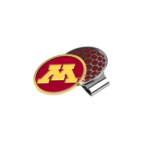 NCAA Minnesota Golden Gophers Golf Hat Clip with Ball Marker, One Size