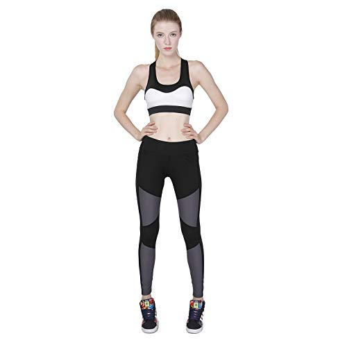 Jogging Fitness Taille De Gray black Sports Stretch Femmes Collants Haute D'automne Ads Pantalons xl D'extérieur Pants Collants Yoga Force qwCABnxIv