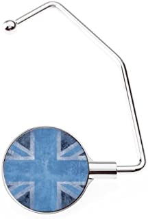 Accroche sac Pro UK Flag Vintage & Blue