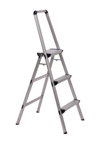 Xtend & Climb FT-3 Ultra Lightweight Aluminum Stool, 3-Step by Xtend & Climb