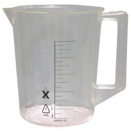 (Beaker, Handle, 2000mL, Polymethylpentene)
