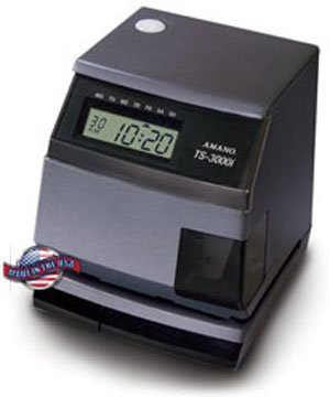 Amano ts-3000i sincronización automática de la hora reloj de Web: Amazon.es: Oficina y papelería