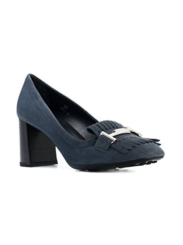 Bleu Escarpins Femme Tod's Suède XXW0ZM0V500HR0U814 YZnqF6E4w