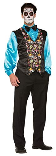 Ovedcray Costume series Day of The Dead Adult Mens Vest for $<!--$34.65-->