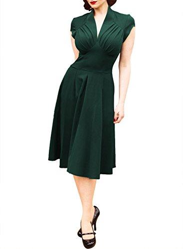 Sweetmeet - Vestido - para mujer Verde
