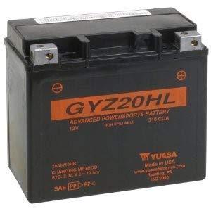 Yuasa GYZ20HL Performance Battery