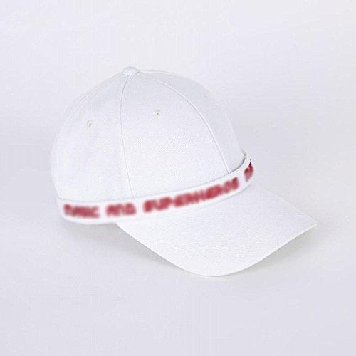 AN Gorra de béisbol blanca de la cinta de moda de la cinta de la letra de la moda,blanco,Un tamaño