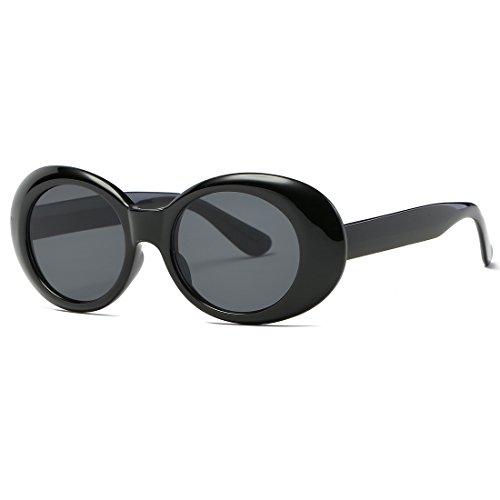 Noir Plastique de K0567 Charnières Cadre de Kimorn Pour Lunettes Métal Soleil Lunettes Femmes Ovale Soleil OYq6P