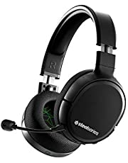 SteelSeries Arctis 1 Wireless Gaming Headset for Xbox – USB-C Wireless – Detachable ClearCast Microphone – for Xbox One and Series X, PS4, PC, Nintendo Switch and Lite, Android