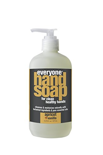 UPC 636874221373, Everyone Hand Soap, Apricot plus Vanilla, 12.75oz, 3 Count