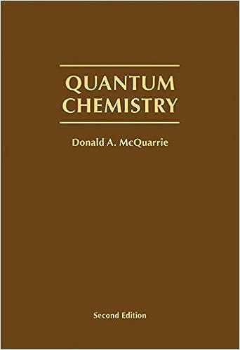 Quantum chemistry donald a mcquarrie 9781891389504 amazon quantum chemistry 2nd edition fandeluxe Images