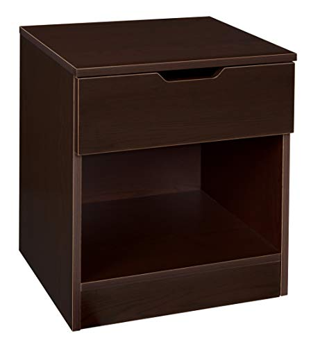 Niche A-NNS2116FR Novelle Single Drawer Night Stand, French Roast, French Roast