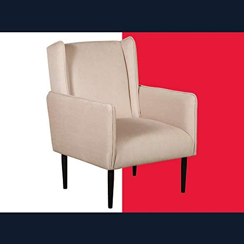Tommy Hilfiger Linden Accent Chair, Cream