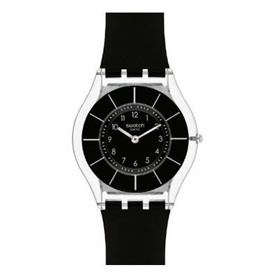 Swatch BLACK CLASSINESS Ladies Watch SFK361 (Sport Swatch Men)