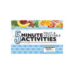 5 Minute Fruit and Vegetable Activities (EA)