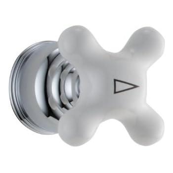Delta Faucet H77 Neostyle Single Porcelain Cross Handle