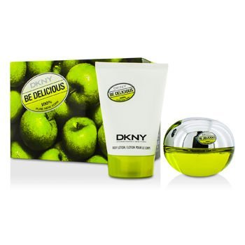 Dkny Be Delicious Coffret: Eau De Parfum Spray 50Ml/1.7Oz + Body Lotion 100Ml/3.4Oz 5Af2 For Women 2Pcs