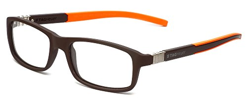 Tag Heuer Designer Optical Eyeglasses TH9312-004 in Brown 56mm DEMO - Lenses Optical Uk