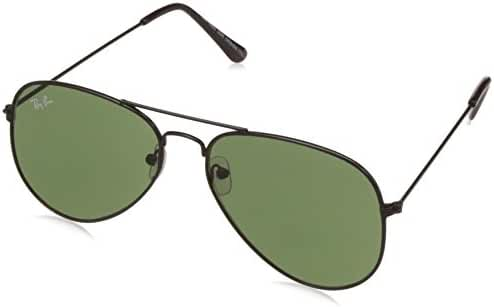 Ray-Ban 3025 Aviator Large Metal Mirrored Non-Polarized Sunglasses