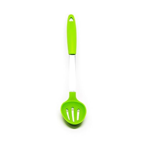 plastic cooking spoon slotted - 3