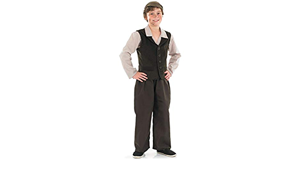 POOR BEGGAR//OLIVER TWIST Budget Urchin 4 Piece Costume Set-Book Day-Fancy Dress