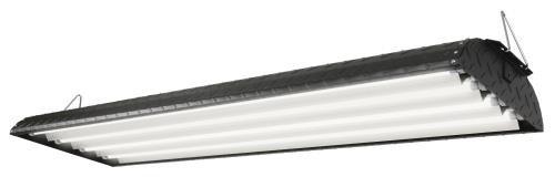 Light T5 Tek (Tek Pro 44 - 4 ft 4 Lamp T5 HO 120 Volt - Black)