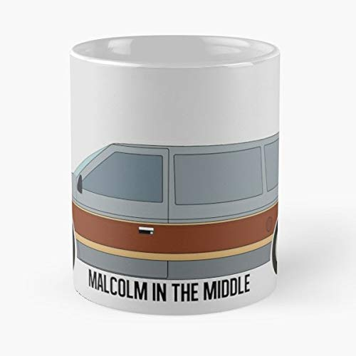 Malcolm In The Middle Tv Shows Series - Coffee Mug-11 Oz,white Unique Birthday Gift-the Best Gift For Holidays. (The Mom From Malcolm In The Middle)