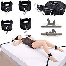 Private Secret Under Bed Restraint System Kit For Adult Bandage Love Game by Rricoco