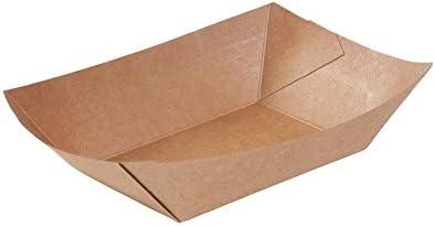 BIOZOYG Cuenco Tipo Barco de cartón con Recubrimiento orgánico ...