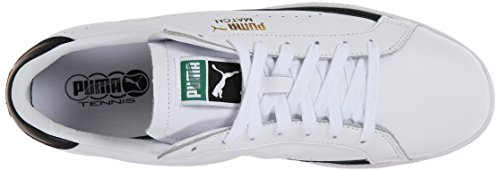 Puma Herenmatch 74 Veterschoen In Veters, Wit / Zwart