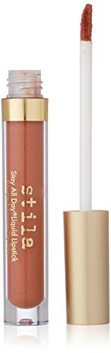 stila Stay All Day Liquid Lipstick, Dolce (Nude Cinnamon Sheen)