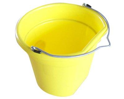 Yel Truck (QINGDAO HUATIAN HAND TRUCK MR20QP/FSB-YEL Mr 20 quart Yellow Flat Bucket)