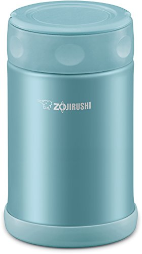 Zojirushi SW-EAE50AB Stainless Steel Food Jar, 17-Ounce/0.5-Liter, Aqua Blue