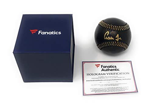 Aaron Judge New York Yankees Signed Autograph Official Black MLB Baseball Fanatics Authentic (Signed Black Baseball)