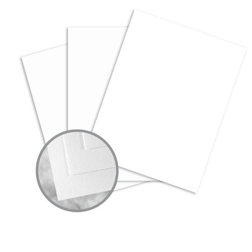 24 Lb White Wove Paper - Strathmore Writing Bright White Paper - 8 1/2 x 11 in 24 lb Writing Wove 25% Cotton 500 per Ream