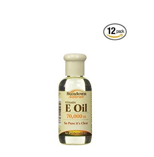 Sundown Vitamin E Oil (Case of 12) by Sundown Naturals by Sundown Naturals (Image #1)