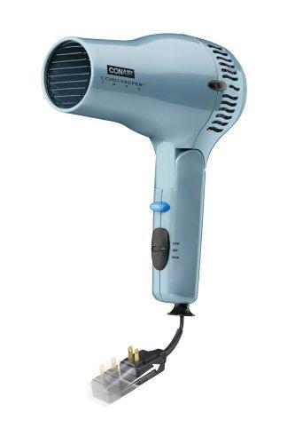 Conair 169XR Ionic Ceramic Cord Keeper 1875-Watt Hair Dryer Hair Styling Tools at amazon
