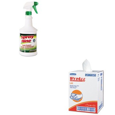 KITITW26832KIM05860 - Value Kit - Wypall 05860 Professional Towels (KIM05860) and Itw Dymon Multipurpose Cleaner (ITW26832)