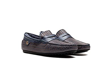 OPP Men's Autumn Winter Stylish Casual Leather Boat Loafers Driving Slip-on Shoes with Velvet Inside hot sale 2017
