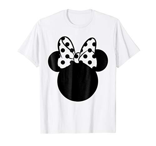 Disney Minnie Mouse Polka Dot Bow T-Shirt