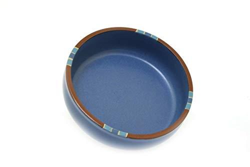Dansk Mesa Blue Stoneware Coupe 5 7/8