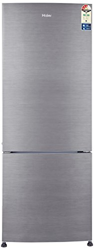 Haier 320 L 3 Star Frost-Free Double Door Refrigerator (HRB-3404BS-R-1, Silver Brush Line)