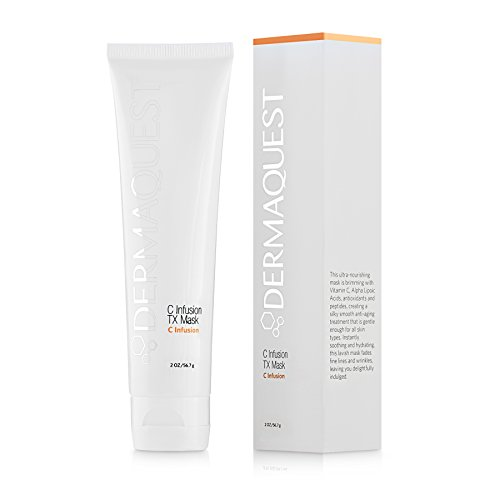 DermaQuest C Infusion TX Ultra-Nourishing Anti-aging Mask with Vitamin C - Brightening and Energizing, 2 oz
