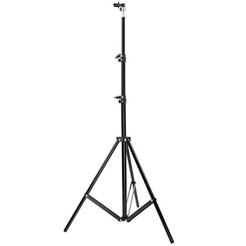 Neewer Adjustable Photography Studio Stand with Background and Reflector Disc Holder Clip, 8.53 feet/260 centimeters Aluminum Alloy Foldable Light Stand for Photo Equipment by Neewer
