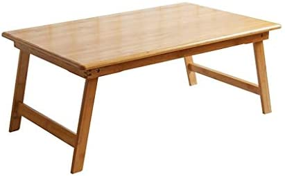 折り畳み式の小さなテーブルのシンプルなレイジーデスクスタディライティングデスクデスクノートパソコンデスクベッド GAONAN (Size : 80CM)