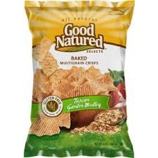 Good Natured Baked Multigrain Crisps Tuscan Garden Medley 2.375 Oz. (Pack of (Kosher Baked Goods)